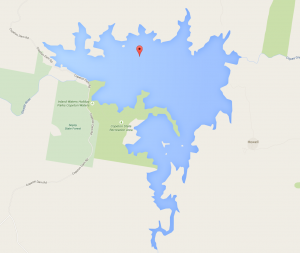 Map of Copeton Dam - Google Maps